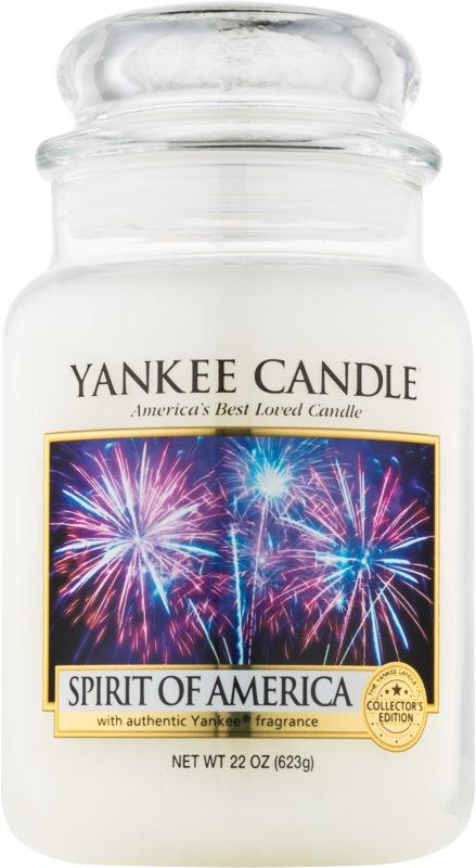 Yankee Candle Spirit of America vonná sviečka 623 g Classic veľká