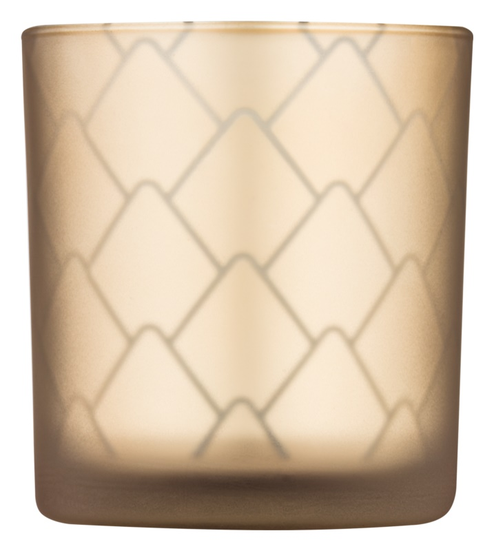 Yankee Candle Modern Pinecone Glass Votive Candle Holder