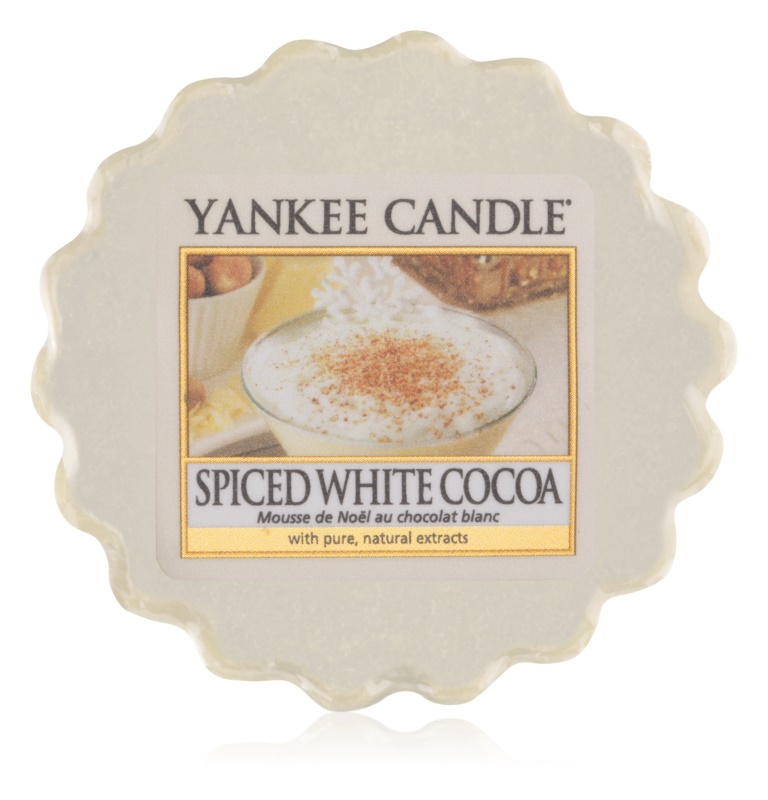 Yankee Candle Spiced White Cocoa Wachs für Aromalampen 22 g