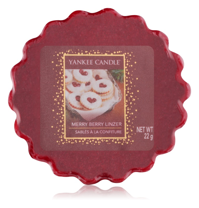 Yankee Candle Merry Berry Linzer восък за арома-лампа  22 гр.