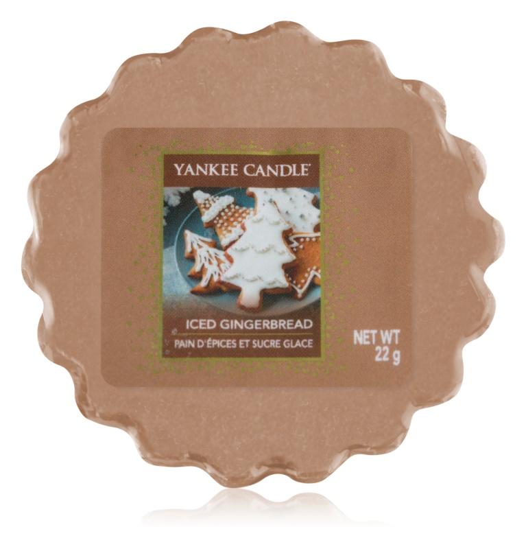 Yankee Candle Iced Gingerbread ceară pentru aromatizator 22 g