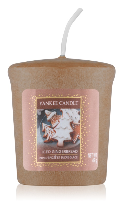 Yankee Candle Iced Gingerbread Votivkerze 49 g