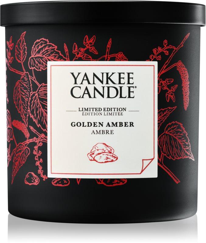Yankee Candle Golden Amber candela profumata 198 g piccola