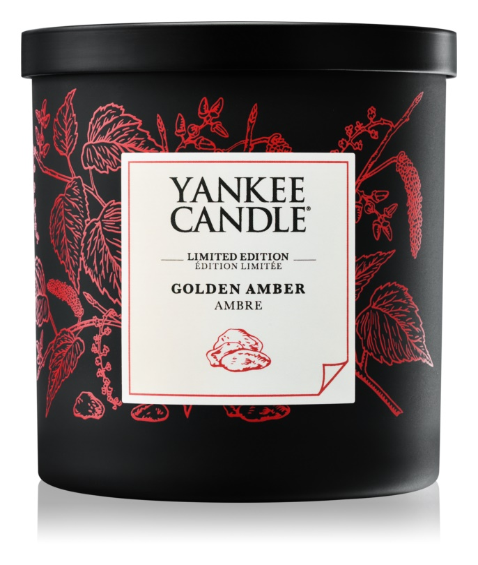 Yankee Candle Golden Amber świeczka zapachowa  198 g mała