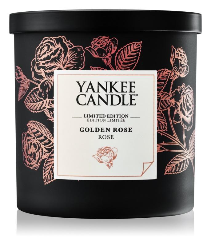 Yankee Candle Golden Rose candela profumata 198 g piccola