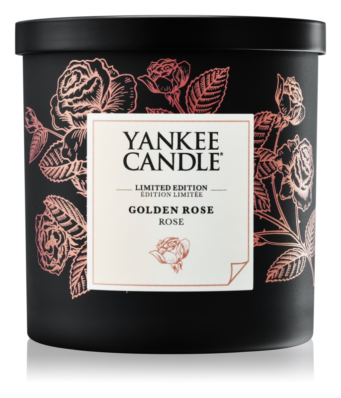 Yankee Candle Golden Rose illatos gyertya  198 g kicsi