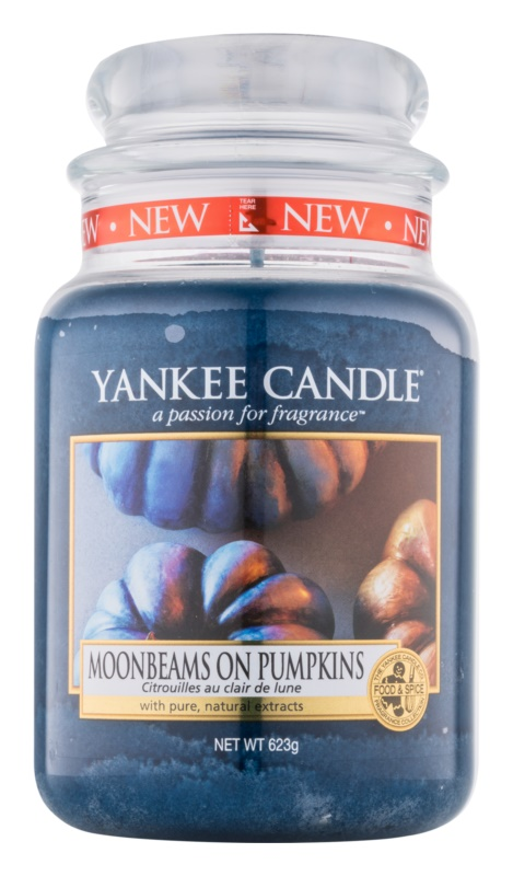 Yankee Candle Moonbeams On Pumpkins świeczka zapachowa  623 g Classic duża
