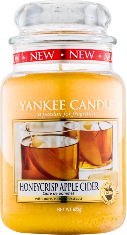 Yankee Candle Honeycrisp Apple Cider świeczka zapachowa  623 g Classic duża