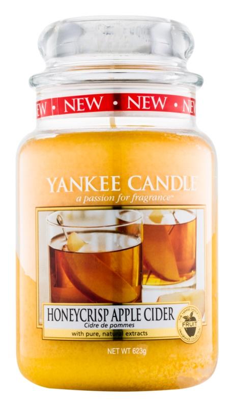 Yankee Candle Honeycrisp Apple Cider vonná sviečka 623 g Classic veľká