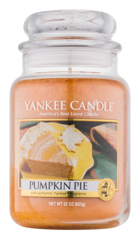 Yankee Candle Pumpkin Pie Scented Candle 623 g Classic Large