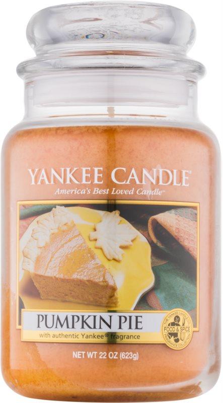 Yankee Candle Pumpkin Pie świeczka zapachowa  623 g Classic duża