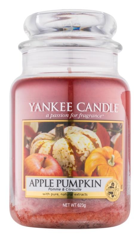 Yankee Candle Apple Pumpkin Αρωματικό κερί 623 γρ Κλασικό μεγάλο