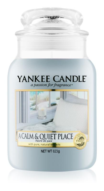 Yankee Candle A Calm & Quiet Place bougie parfumée 623 g Classic grande