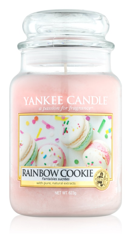 Yankee Candle Rainbow Cookie Duftkerze  623 g Classic groß