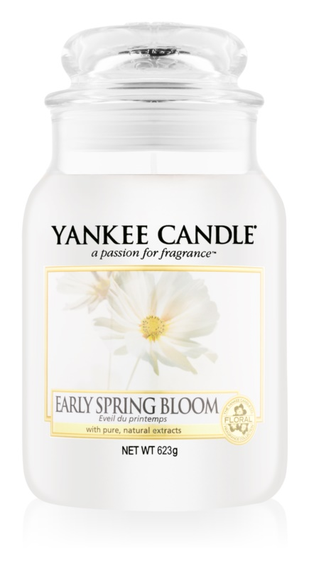 Yankee Candle Early Spring Bloom Scented Candle 623 g Classic Large