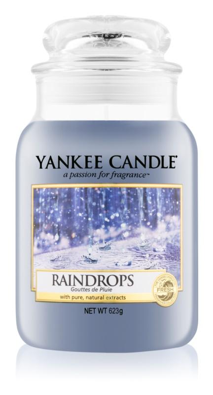 Yankee Candle Raindrops Αρωματικό κερί 623 γρ Κλασικό μεγάλο