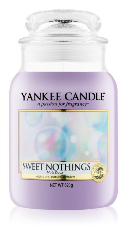 Yankee Candle Sweet Nothings świeczka zapachowa  623 g Classic duża