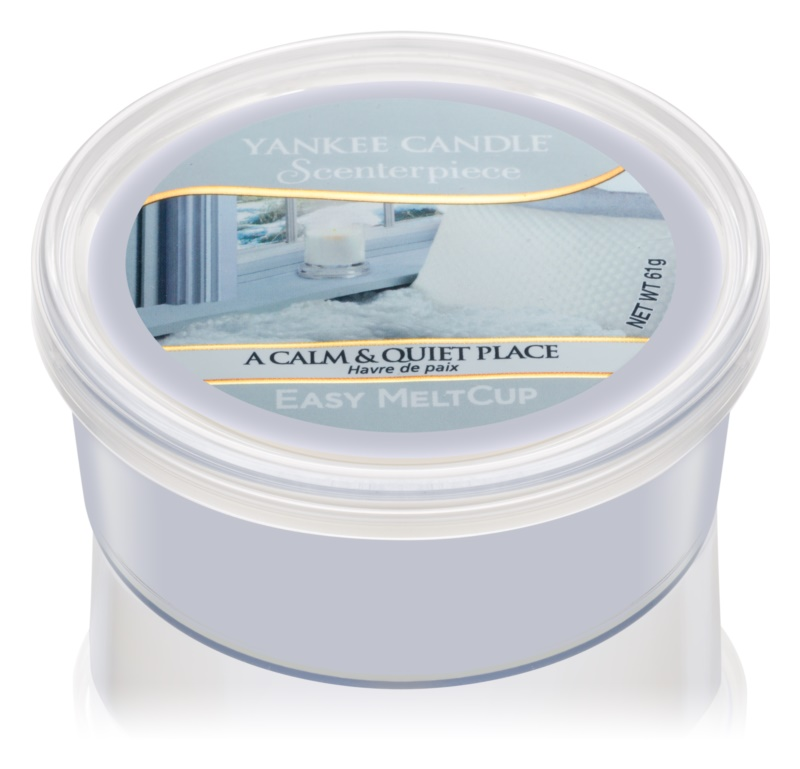 Yankee Candle A Calm & Quiet Place vosk do elektrickej aromalampy 61 g