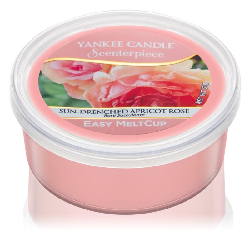 Yankee Candle Scenterpiece  Sun-Drenched Apricot Rose cera per lampada aromatica elettrica 61 g