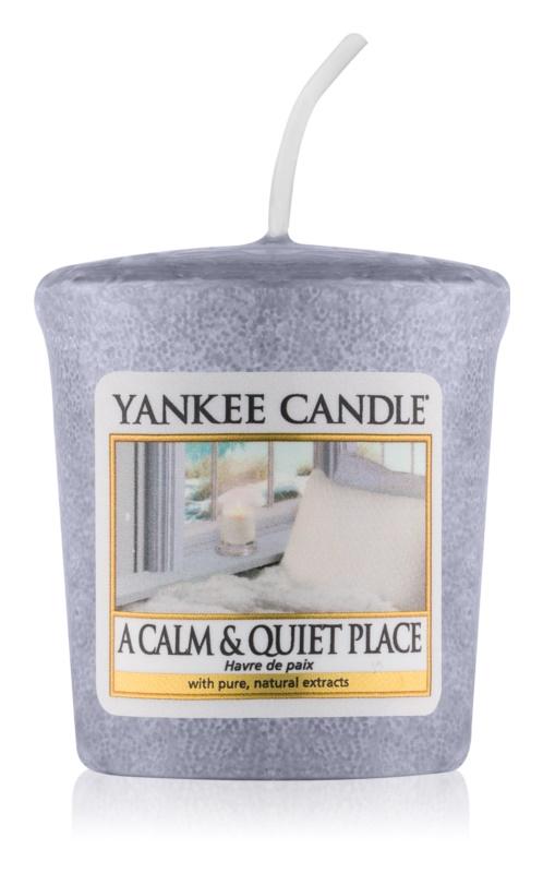 Yankee Candle A Calm & Quiet Place вотивна свещ 49 гр.
