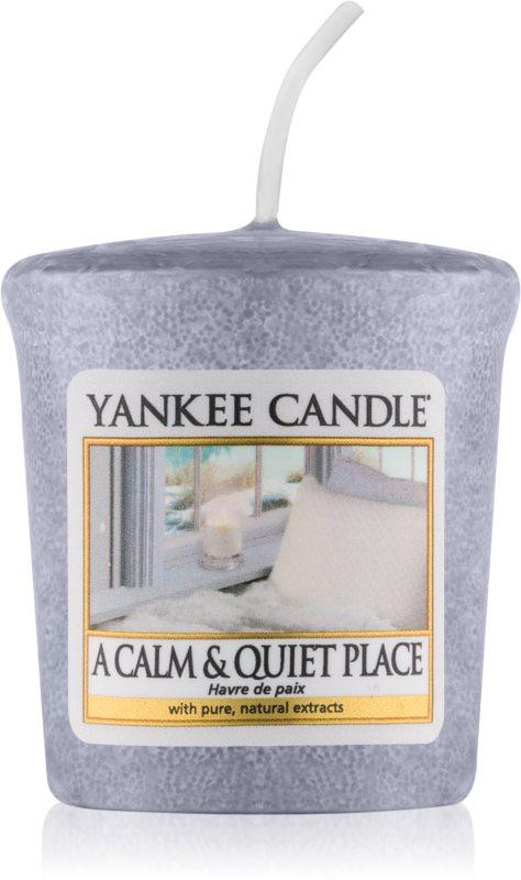 Yankee Candle A Calm & Quiet Place votivní svíčka 49 g