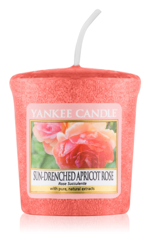 Yankee Candle Sun-Drenched Apricot Rose lumânare votiv 49 g