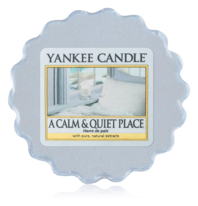 Yankee Candle A Calm & Quiet Place cera per lampada aromatica 22 g