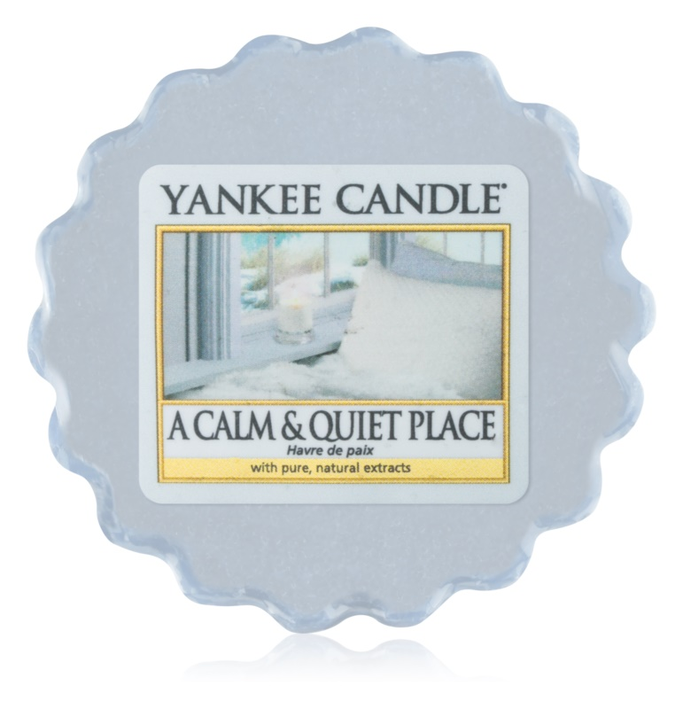 Yankee Candle A Calm & Quiet Place vosek za aroma lučko  22 g