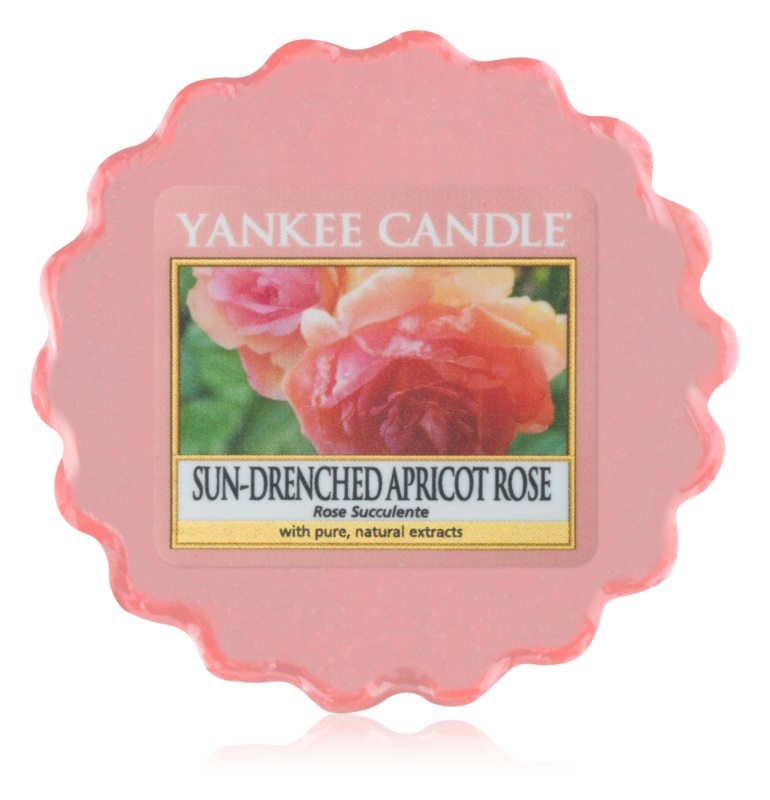 Yankee Candle Sun-Drenched Apricot Rose cera per lampada aromatica 22 g