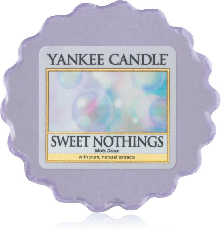 Yankee Candle Sweet Nothings cera derretida aromatizante 22 g