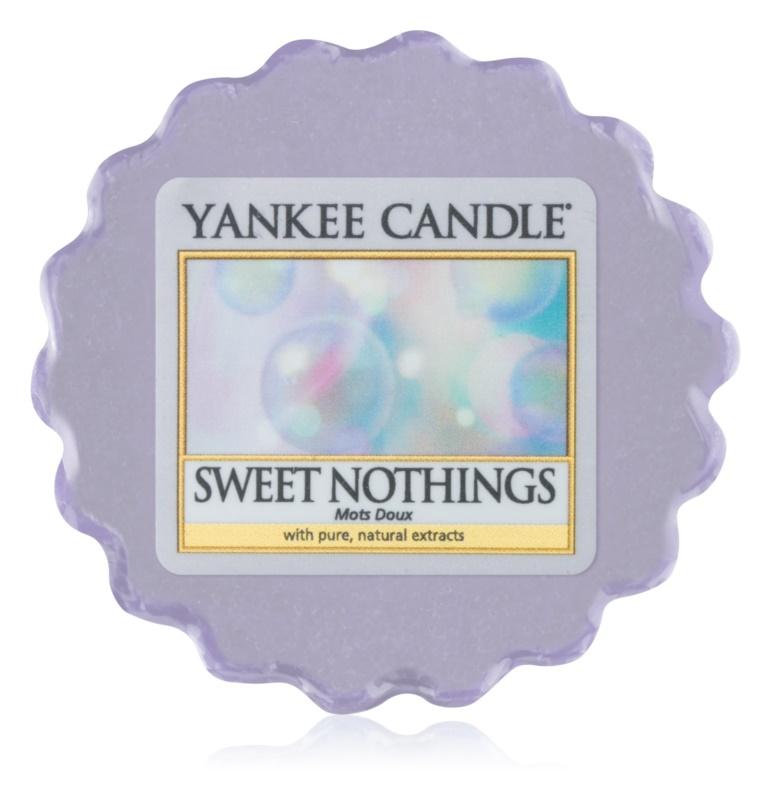 Yankee Candle Sweet Nothings cera para lámparas aromáticas 22 g