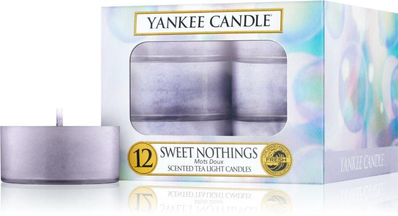 Yankee Candle Sweet Nothings świeczka typu tealight 12 x 9,8 g