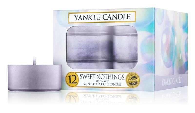 Yankee Candle Sweet Nothings vela do chá 12 x 9,8 g