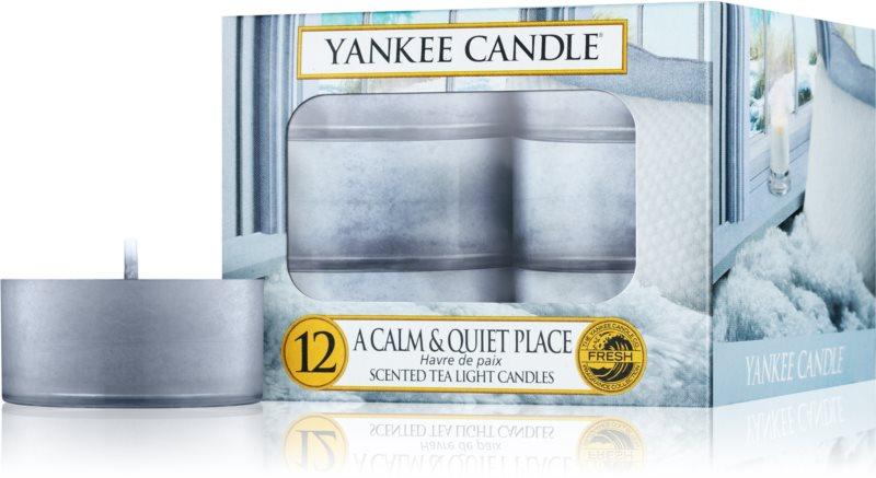 Yankee Candle A Calm & Quiet Place candela scaldavivande 12 x 9,8 g