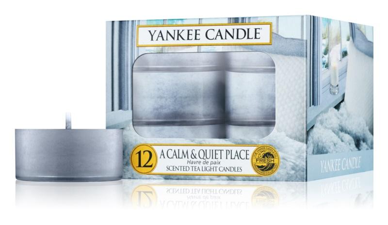 Yankee Candle A Calm & Quiet Place świeczka typu tealight 12 x 9,8 g