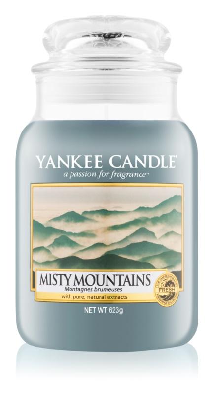 Yankee Candle Misty Mountains vonná svíčka 623 g Classic velká