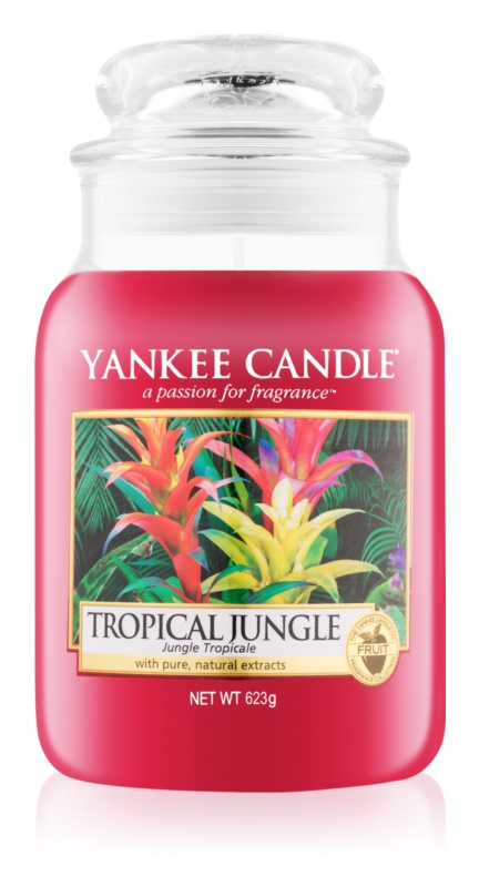 Yankee Candle Tropical Jungle vonná sviečka 623 g Classic veľká