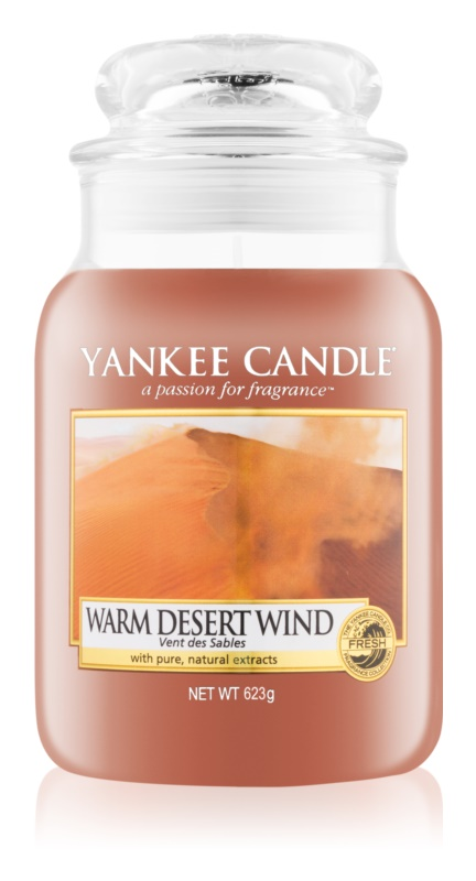 Yankee Candle Warm Desert Wind Geurkaars 623 gr Classic Large