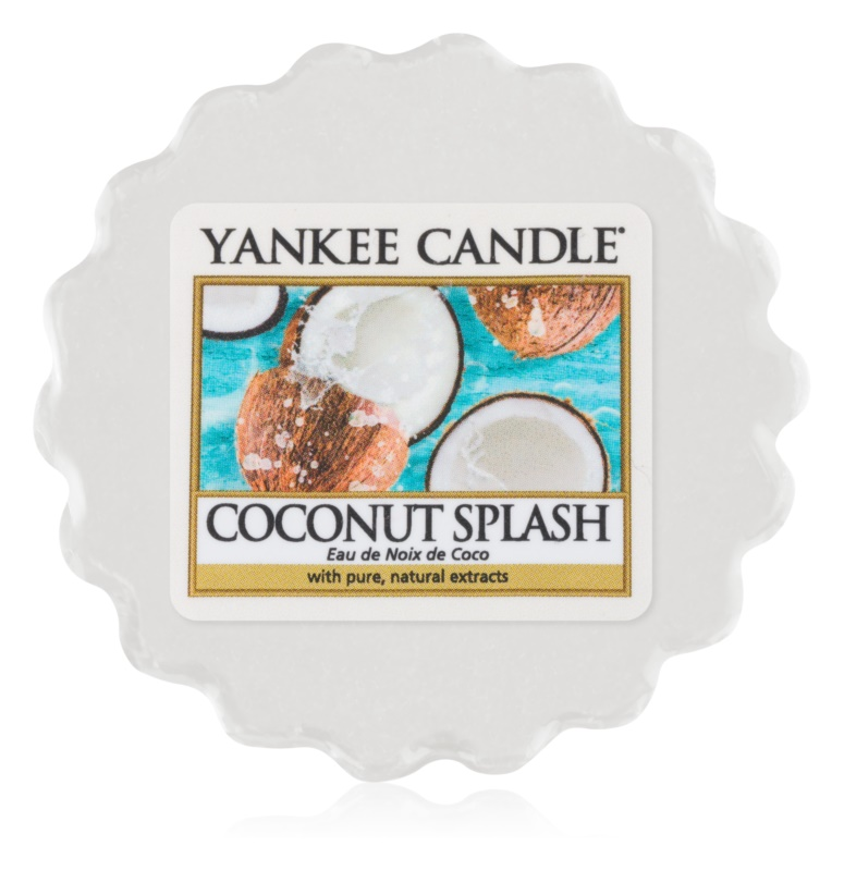 Yankee Candle Coconut Splash illatos viasz aromalámpába 22 g