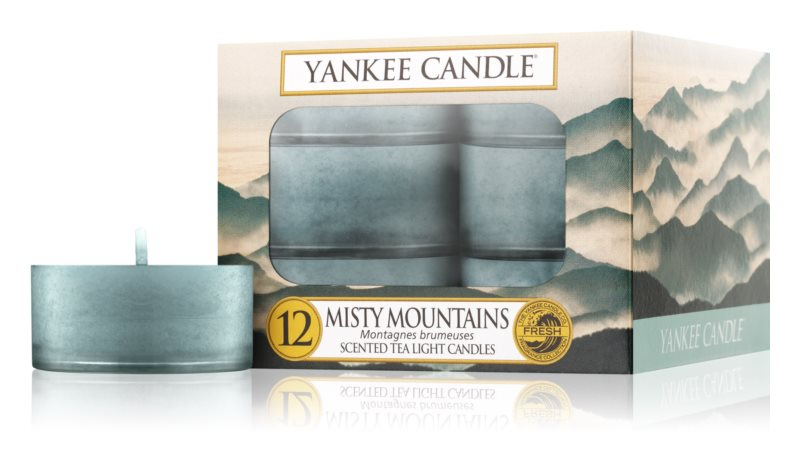Yankee Candle Misty Mountains lumânare 12 x 9,8 g