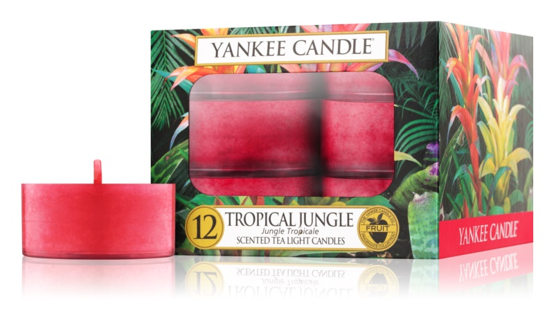 Yankee Candle Tropical Jungle čajová svíčka 12 x 9,8 g