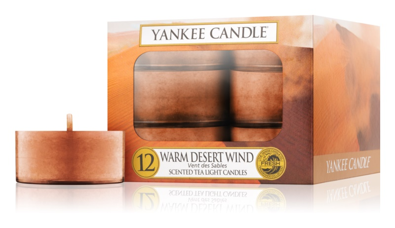 Yankee Candle Warm Desert Wind bougie chauffe-plat 12 x 9,8 g