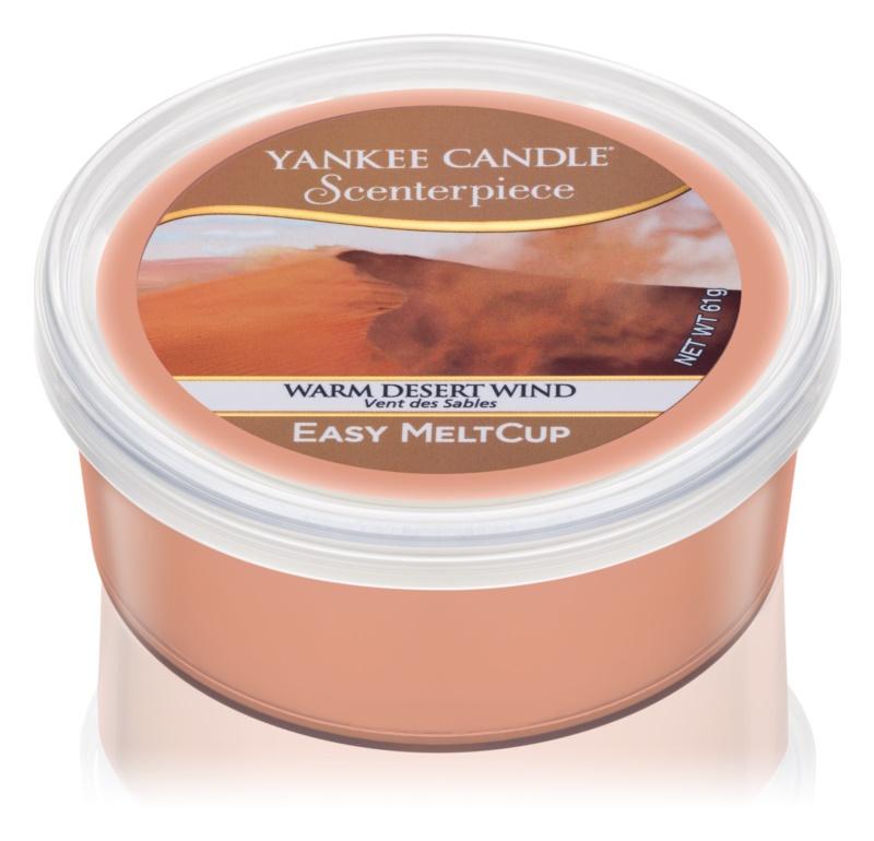 Yankee Candle Warm Desert Wind cire pour brûleur à tartelette électrique 61 g