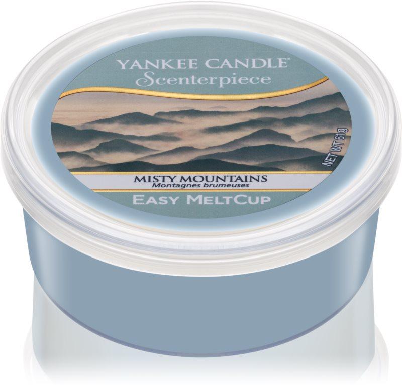 Yankee Candle Misty Mountains Ceară pentru încălzitorul de cearăCeară pentru încălzitorul de ceară 61 g
