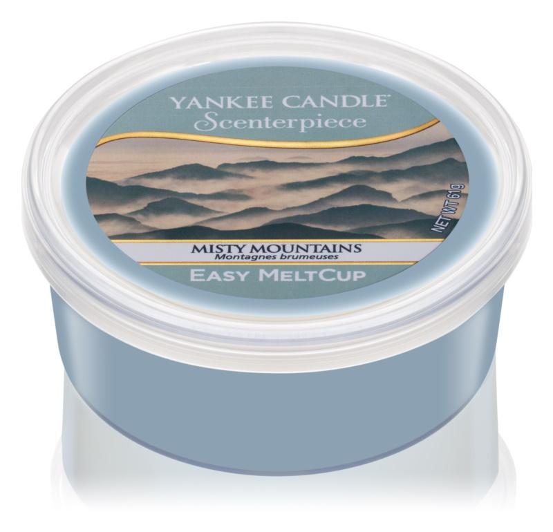 Yankee Candle Misty Mountains elektromos aromalámpa viasz 61 g