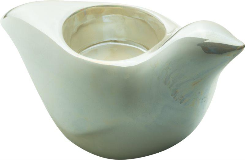 Yankee Candle Pearlescent Dove keramický svícen na čajovou svíčku
