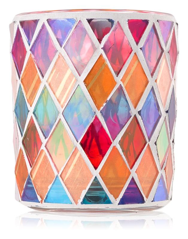 Yankee Candle Warm Rustic porte-bougie votive en verre