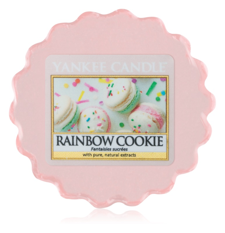 Yankee Candle Rainbow Cookie cera per lampada aromatica 22 g