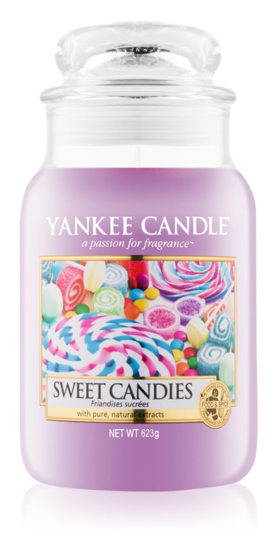 Yankee Candle Sweet Candies vonná sviečka 623 g Classic veľká