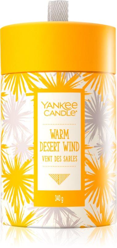 Yankee Candle Warm Desert Wind illatos gyertya  340 g ajándékdoboz